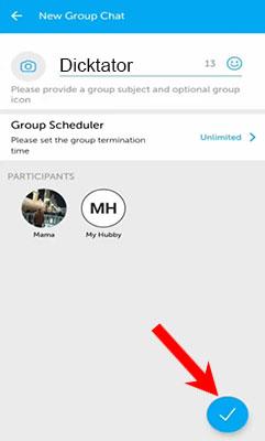 grup chat