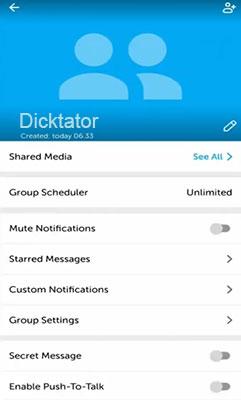 grup WhatsApp ke BiP
