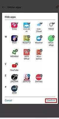 hidden aplikasi