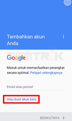 langkah langkah membuat email di gmail