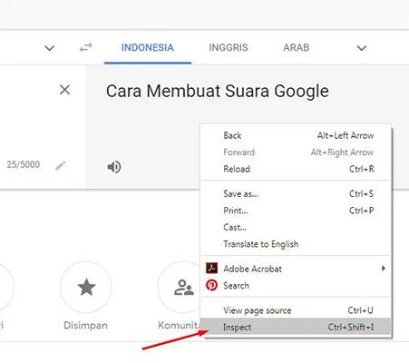 membuat suara google untuk video