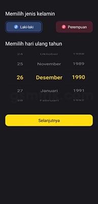 tanggal lahir