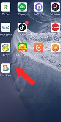 Buka Aplikasi Bendera