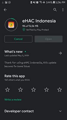 Cara Download eHAC Indonesia