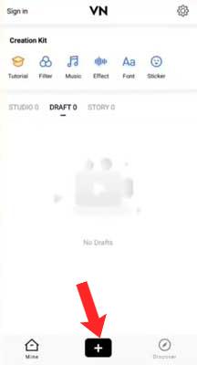 Cara Menggunakan Aplikasi VN Video Editor Lite