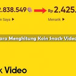 Cara Menghitung Koin Snack Video