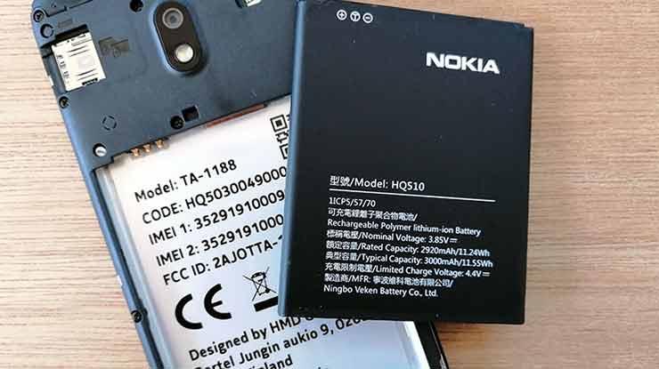 Cek Tipe Dibelakang Baterai Nokia