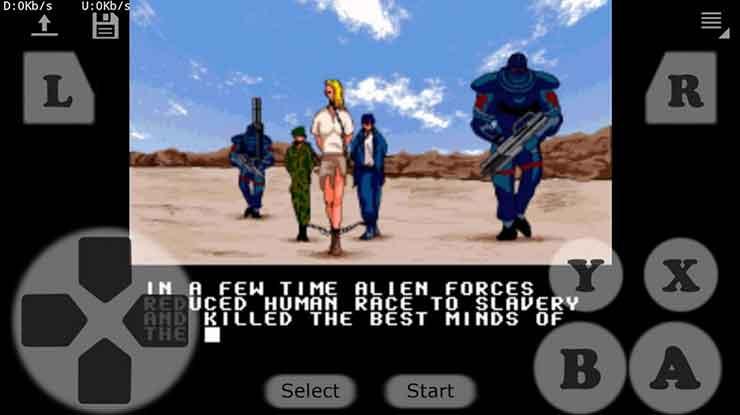 MultiSneS16 multiplayer retro 16 bits emulator