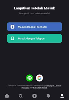 login ulang Snack Video