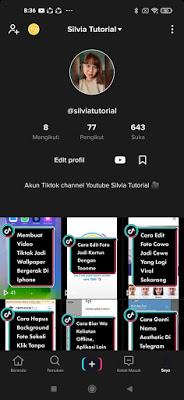 tiktok dark mode apk