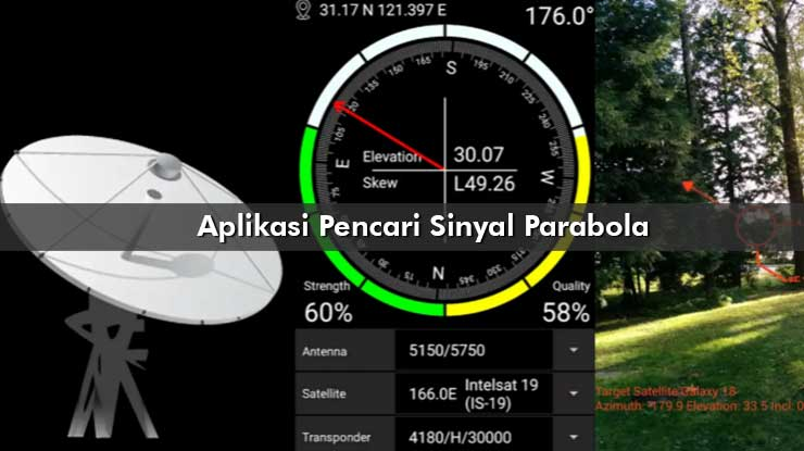 Aplikasi Pencari Sinyal Parabola