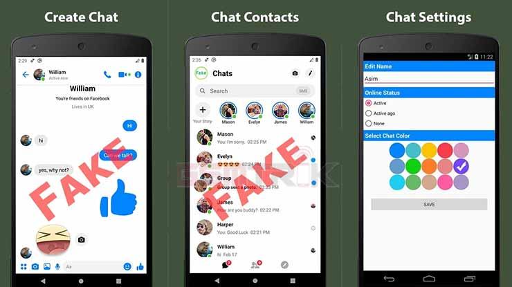Fake Chat Conversation