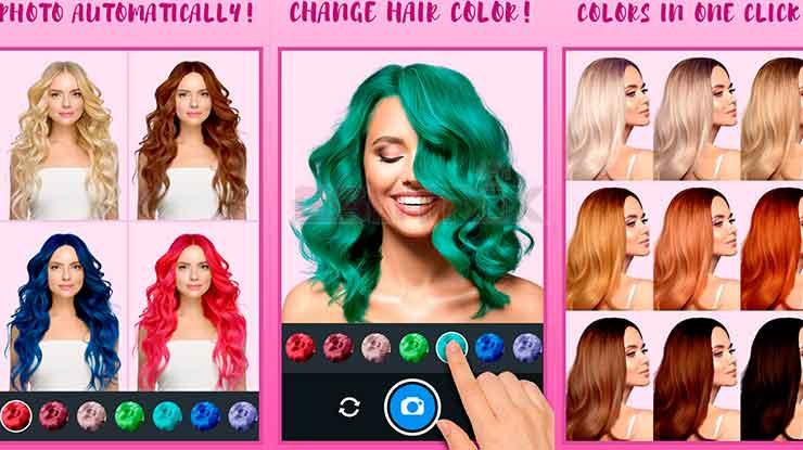 Pengubah Warna Rambut