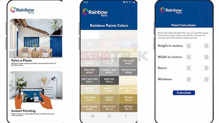 Rainbow Paints Visualizer