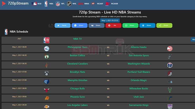 720p Stream NBA