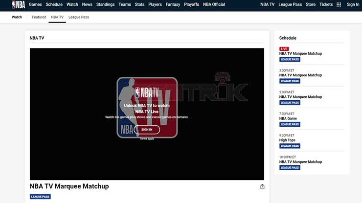 Watch NBA