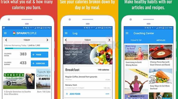 Calorie Counter Diet Tracker