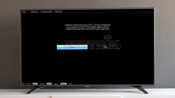 Cara Membuka TV Sharp LED yang Terkunci Tanpa Remote