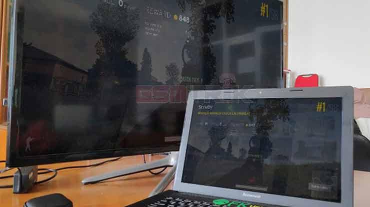 Cara Menggunakan HDMI Dongle dari Laptop ke TV