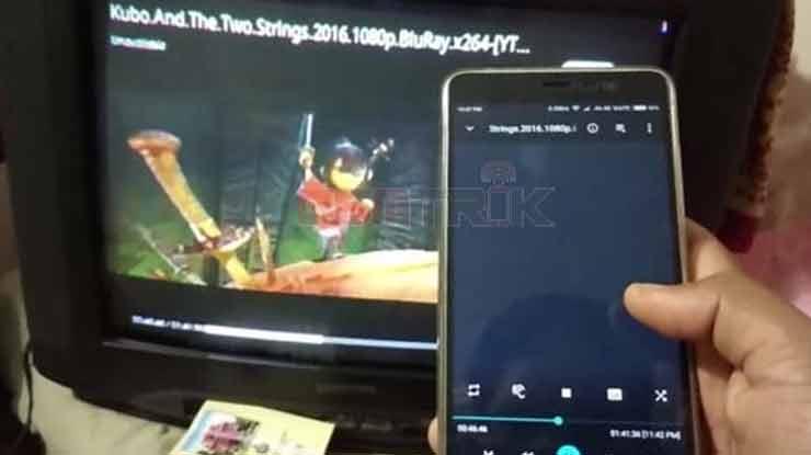 Cara Menggunakan HDMI Dongle ke TV Tabung dari HP