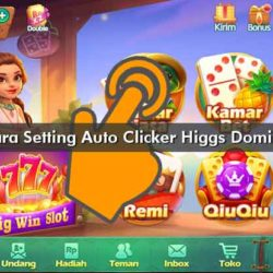 Cara Setting Auto Clicker Higgs Domino