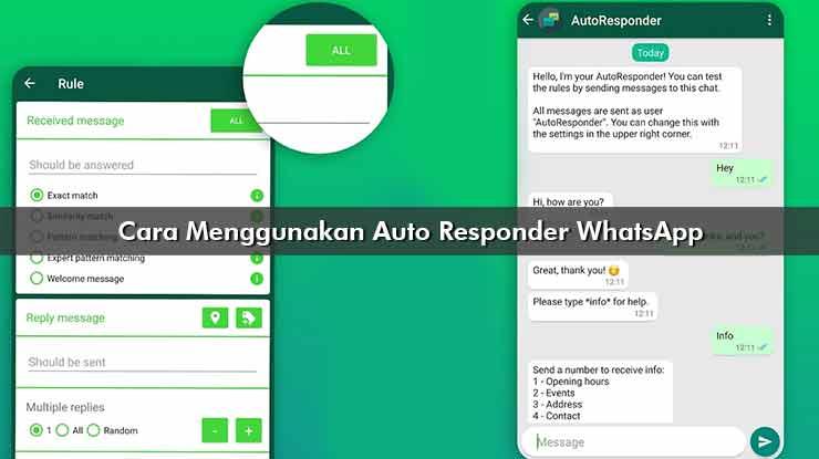 Cara Menggunakan Auto Responder WhatsApp