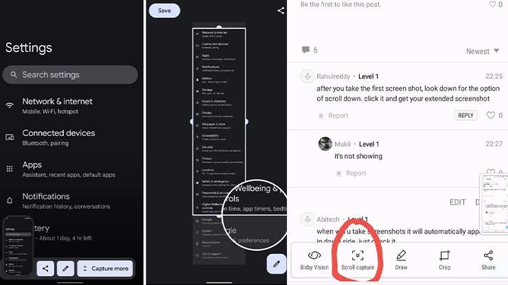 Cara Screenshot Panjang Samsung A52