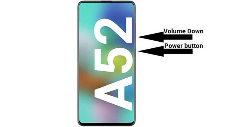 Cara Screenshot Samsung A52 Dengan Tombol