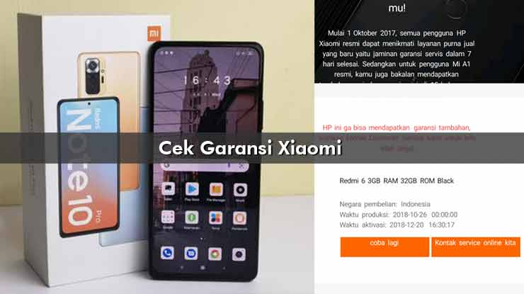 Cek Garansi Xiaomi