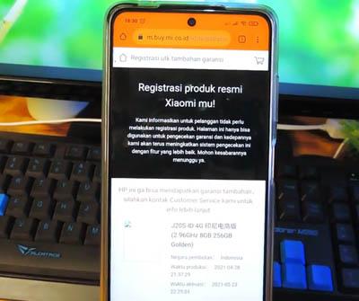 Garansi Xiaomi