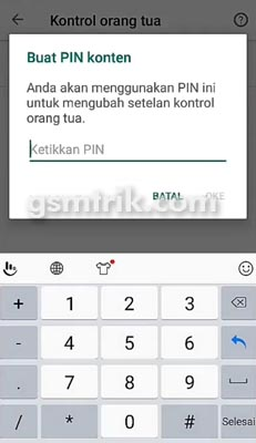 kunci pin