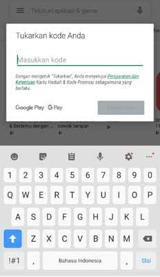 Beli Voucher Google Play