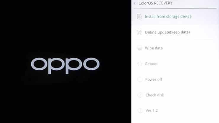 Cara Flash HP Oppo A12