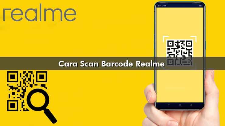 Cara Scan Barcode Realme