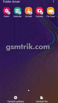 Folder Aman Samsung